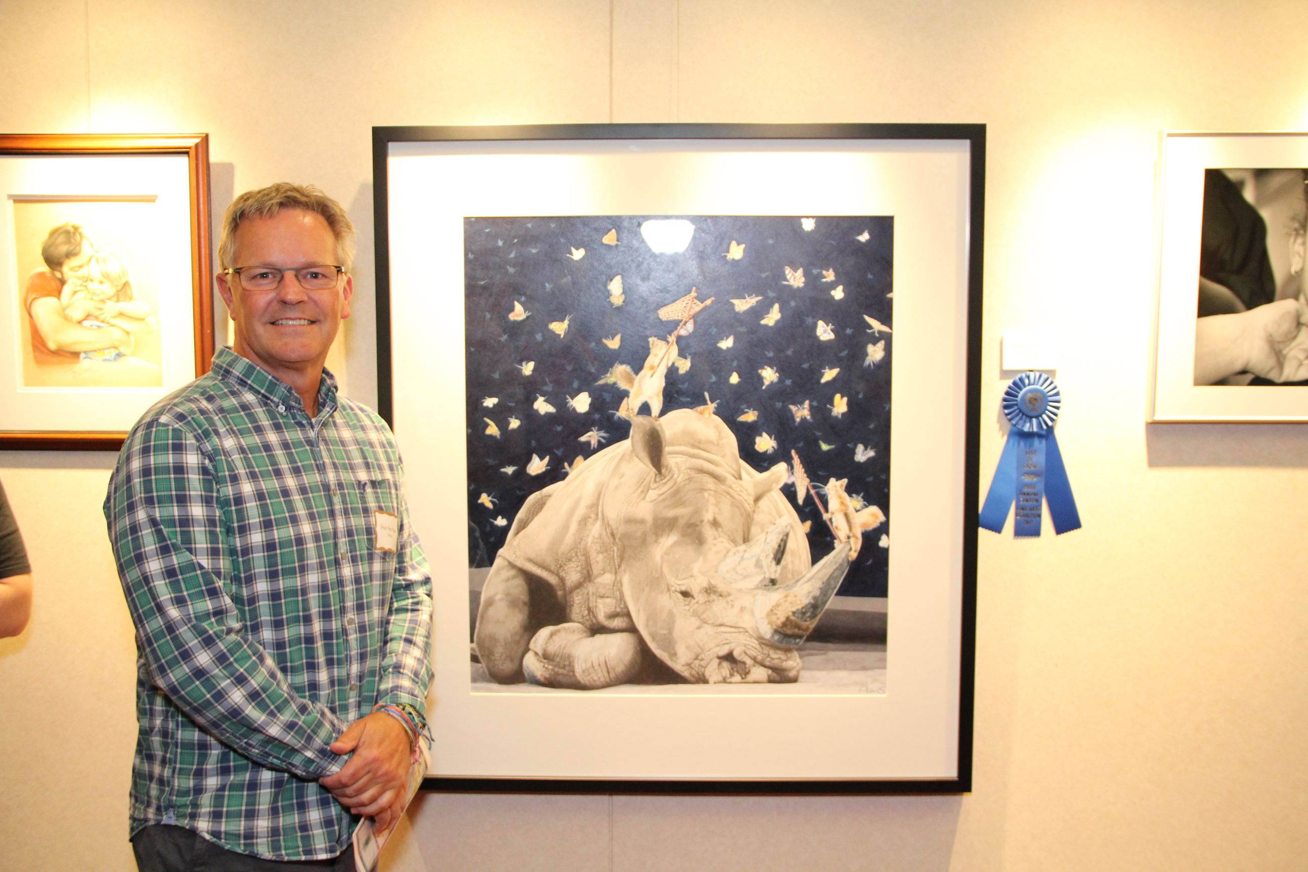 2017 Canton Fine Arts Exhibition  Best of Show Winner Paul Van Heest photo