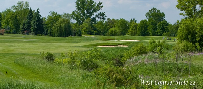 West Course: Hole 22